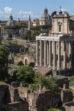 Το ρωμαϊκό φόρουμ - Ρώμη - Ιταλία Στοκ εικόνες με δικαίωμα ελεύθερης χρήσης