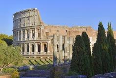 Το ρωμαϊκό Colosseum, μια θέση όπου gladiators πάλεψαν τόσο καλά όσο την ύπαρξη ένας τόπος συναντήσεως για τη δημόσια ψυχαγωγία,  στοκ εικόνες με δικαίωμα ελεύθερης χρήσης