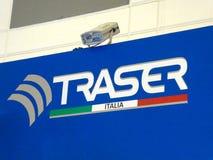 Το σήμα επιχείρησης της Ιταλίας Traser στοκ εικόνα με δικαίωμα ελεύθερης χρήσης