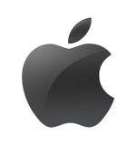 Το σήμα επιχείρησης της Apple Στοκ Φωτογραφία