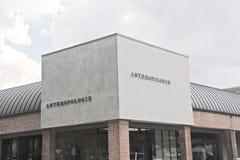 Το σήμα επιχείρησης Anthropologie Στοκ εικόνες με δικαίωμα ελεύθερης χρήσης
