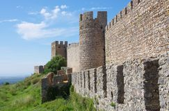 Το Σαντιάγο κάνει το κάστρο Cacem Στοκ εικόνες με δικαίωμα ελεύθερης χρήσης