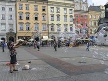 Το σαπούνι βράζει ψυχαγωγία Στοκ Φωτογραφία