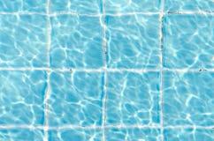 Το σαφές μπλε έσχισε το νερό Στοκ φωτογραφία με δικαίωμα ελεύθερης χρήσης