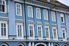Το σερβικό κοινοτικό σπίτι στο τετράγωνο ένωσης Στοκ Φωτογραφία
