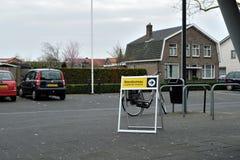 Το σημάδι στον ψηφοφορία-σταθμό Hengelo στις 20 Μαρτίου 2019 στοκ φωτογραφία με δικαίωμα ελεύθερης χρήσης