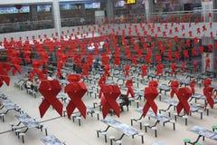 Το σημάδι της Παγκόσμιας Ημέρας κατά του AIDS στοκ φωτογραφία με δικαίωμα ελεύθερης χρήσης