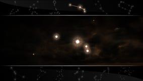 Το σημάδι Aries αστεριών κριού Στοκ Φωτογραφίες