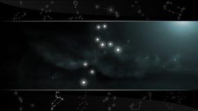 Το σημάδι Leo αστεριών λιονταριών Στοκ εικόνες με δικαίωμα ελεύθερης χρήσης
