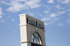 Το σημάδι για το Ντόβερ κατεβάζει, Ντελαγουέρ Στοκ φωτογραφίες με δικαίωμα ελεύθερης χρήσης