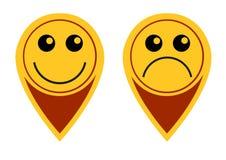 Το σημάδι της χαράς Στοκ εικόνα με δικαίωμα ελεύθερης χρήσης