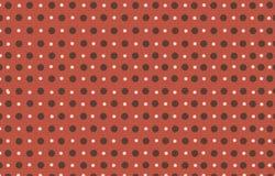 Το σημείο Πόλκα με το κόκκινο υπόβαθρο χρώματος κρητιδογραφιών Στοκ φωτογραφίες με δικαίωμα ελεύθερης χρήσης