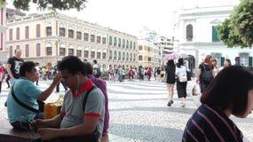 Το σημείο τουριστών στοκ φωτογραφία με δικαίωμα ελεύθερης χρήσης