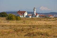 το σημείο Wilson φάρων οχυρών Στοκ φωτογραφία με δικαίωμα ελεύθερης χρήσης