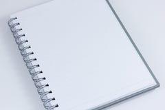 Το σημειωματάριο απομονώνει Στοκ φωτογραφία με δικαίωμα ελεύθερης χρήσης