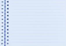 Το σημειωματάριο με το ψαλίδισμα της πορείας Στοκ φωτογραφία με δικαίωμα ελεύθερης χρήσης