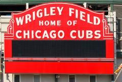 το Σικάγο cubs το πεδίο Wrigley στοκ εικόνες