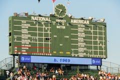 το Σικάγο cubs το πεδίο Wrigley Στοκ εικόνες με δικαίωμα ελεύθερης χρήσης