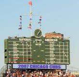 το Σικάγο cubs το πεδίο Wrigley Στοκ Φωτογραφίες