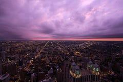 το Σικάγο skydeck willis πύργων οριζόντων στοκ εικόνες
