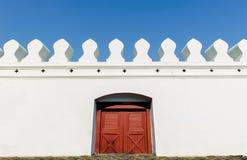 Παλαιά ταϊλανδική πόρτα Στοκ φωτογραφία με δικαίωμα ελεύθερης χρήσης