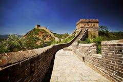 Το Σινικό Τείχος της Κίνας Στοκ φωτογραφία με δικαίωμα ελεύθερης χρήσης