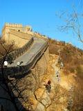 Το Σινικό Τείχος της Κίνας (Πεκίνο, Κίνα) Στοκ Εικόνες