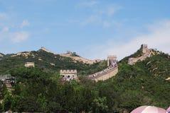 Το Σινικό Τείχος της Κίνας σε Badaling Στοκ Φωτογραφία