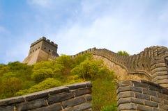 Το Σινικό Τείχος της Κίνας Στοκ εικόνες με δικαίωμα ελεύθερης χρήσης