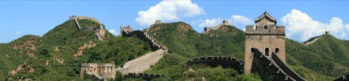 Το Σινικό Τείχος της Κίνας Στοκ Φωτογραφίες
