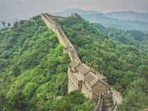 Το Σινικό Τείχος της Κίνας Στοκ Εικόνες