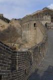 Το Σινικό Τείχος Badaling στη κομητεία Πεκίνο Κίνα Yanqing έχτισε το 1504 κατά τη διάρκεια της δυναστείας Ming 1015 μέτρα επάνω α Στοκ φωτογραφία με δικαίωμα ελεύθερης χρήσης