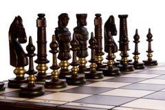 το σκάκι απομόνωσε το λευκό Στοκ φωτογραφίες με δικαίωμα ελεύθερης χρήσης