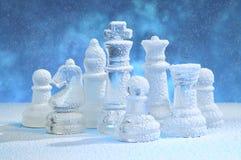 το σκάκι λογαριάζει το χ& Στοκ Εικόνες