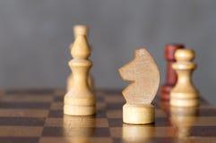 Το σκάκι λογαριάζει την κινηματογράφηση σε πρώτο πλάνο Στοκ φωτογραφία με δικαίωμα ελεύθερης χρήσης
