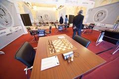 το σκάκι πέμπτος αναμνηστι& Στοκ Εικόνες
