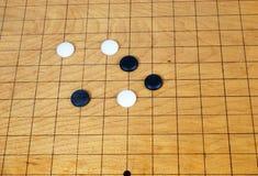 το σκάκι πηγαίνει Στοκ Φωτογραφίες