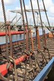 Το σκάφος Βίκινγκ Στοκ εικόνες με δικαίωμα ελεύθερης χρήσης