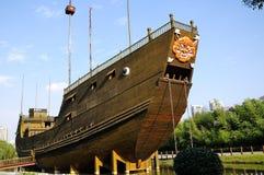 Το σκάφος θησαυρών Στοκ εικόνα με δικαίωμα ελεύθερης χρήσης