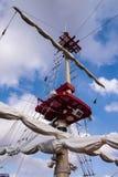 Το σκάφος ιστών Στοκ Φωτογραφίες