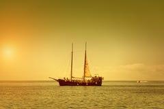 Το σκάφος πειρατών Στοκ Εικόνα