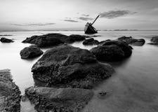 Το σκάφος σε γραπτό, Ταϊλάνδη Στοκ φωτογραφίες με δικαίωμα ελεύθερης χρήσης