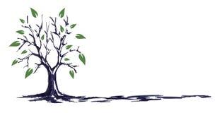 Το σκίτσο δέντρων ελεύθερη απεικόνιση δικαιώματος