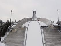το σκι άλματος Στοκ Εικόνες