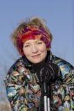 το σκι κολλά τις νεολαί&e Στοκ Εικόνες