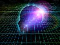 Το σκοτάδι του μυαλού Στοκ Εικόνα