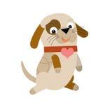 Το σκυλί κινούμενων σχεδίων Στοκ φωτογραφία με δικαίωμα ελεύθερης χρήσης