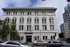 Το σκωτσέζικο κέντρο ιεροτελεστίας γύρισε το κέντρο αντιβασιλείας και αίθουσα χορού Στοκ φωτογραφία με δικαίωμα ελεύθερης χρήσης