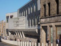 Το σκωτσέζικο Κοινοβούλιο στο Εδιμβούργο Στοκ Εικόνα