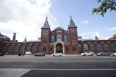 Το σμιθσονιτικό κτήριο Εθνικών Μουσείων Στοκ φωτογραφία με δικαίωμα ελεύθερης χρήσης